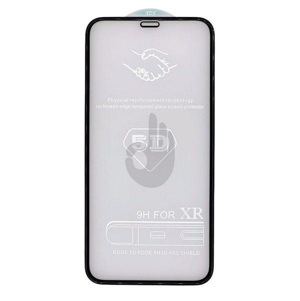 Защитное-5D-Стекло-iPhone-Xr-Premium-Tempered-Glass