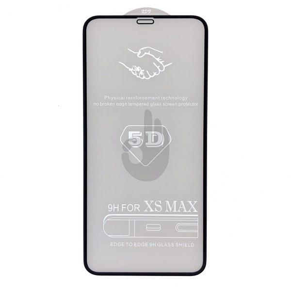 Защитное 5D Стекло iPhone Xs Max Premium Tempered Glass
