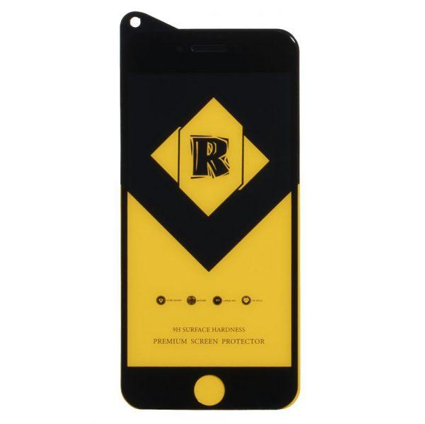 Защитное Стекло R Yellow для iPhone 6, 6S Premium Tempered Glass