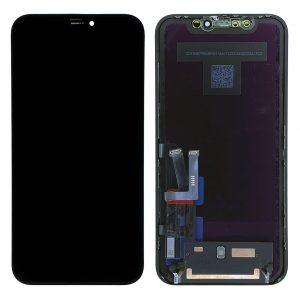 Оригинальный Дисплей-iPhone-11-LCD-экран-тачскрин-рамка