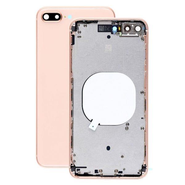 Корпус в сборе с задней панелью (крышкой) iPhone 8 Plus (Gold)
