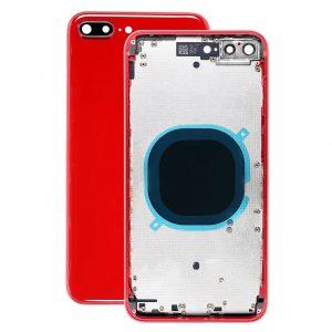 Корпус в сборе с задней панелью (крышкой) iPhone 8 Plus (RED)