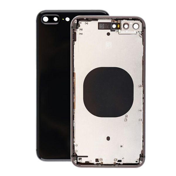 Корпус в сборе с задней панелью (крышкой) iPhone 8 Plus (Space gray)