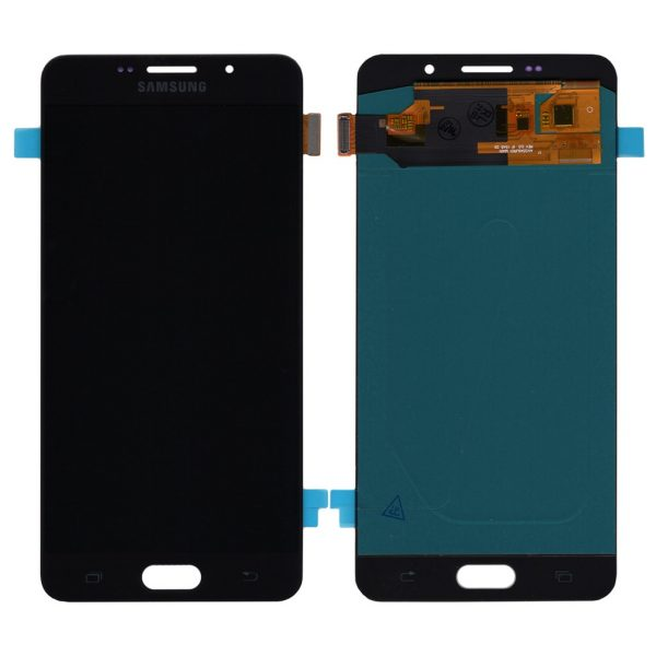 Дисплей Samsung Galaxy A7 (2016) | A710 | OLED | Черный | Экран + сенсор, модуль в сборе