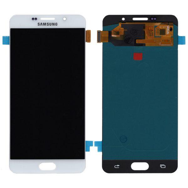 Оригинальный Дисплей Samsung Galaxy A7 (2016) A710 с белым тачсрином