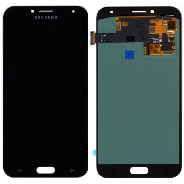 Дисплей Samsung J400 Galaxy J4 с черным тачскрином