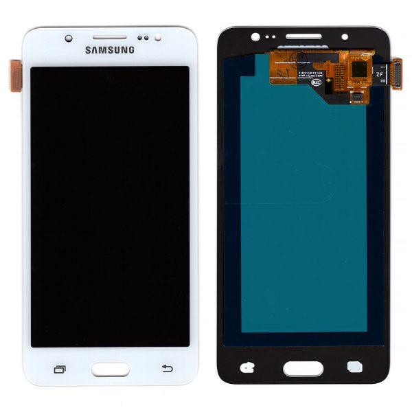 Дисплей Samsung Galaxy J5 | J510 | OLED | Белый | Экран + сенсор, модуль в сборе