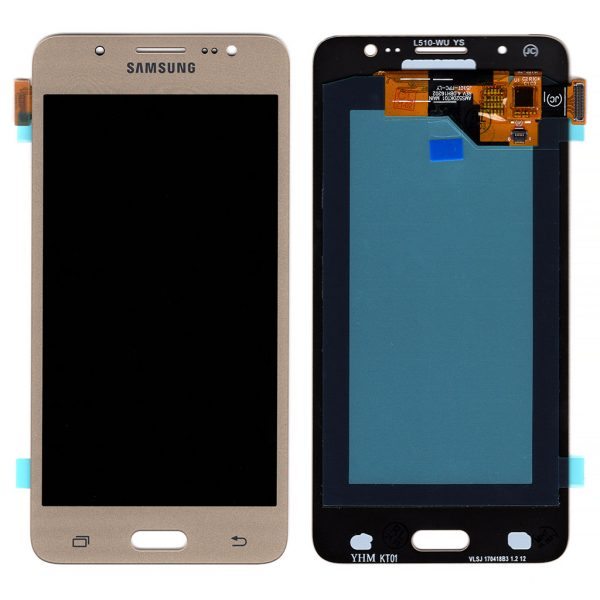 Дисплей Samsung J510 Galaxy J5 с золотым тачскрином