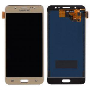 Дисплей Samsung J510 Galaxy J5 с золотым тачскрином TFT