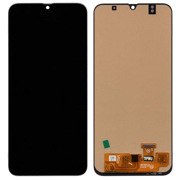 Дисплей A305 Samsung Galaxy A30 с черным тачскрином TFT