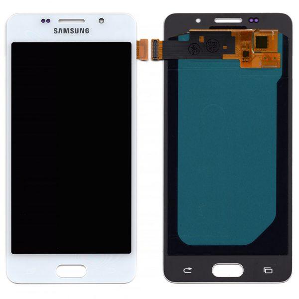 Дисплей Samsung A510 Galaxy A5 (2016) с белым тачскрином OLED