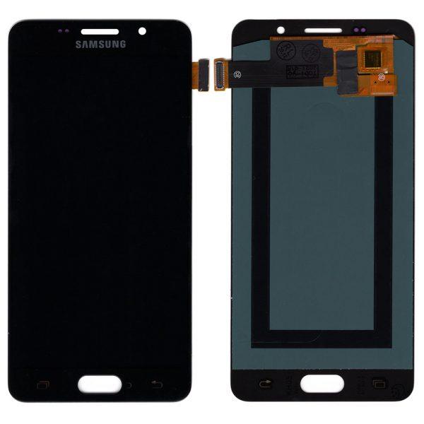 Дисплей Samsung A510 Galaxy A5 (2016) с черным тачскрином IPS