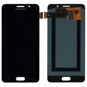 Дисплей Samsung A510 Galaxy A5 (2016) с черным тачскрином OLED
