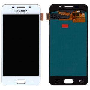 Дисплей Samsung A310 Galaxy A3 (2016) с белым тачскрином OLED