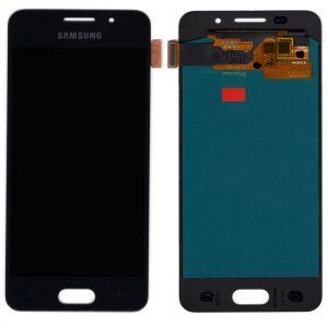 Дисплей Samsung A310 Galaxy A3 (2016) с черным тачскрином OLED
