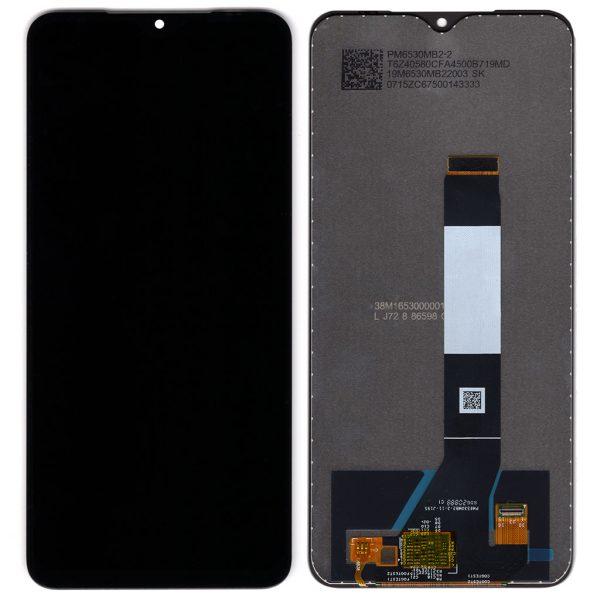 Дисплей Xiaomi Redmi 9T, Poco M3 с черным тачскрином